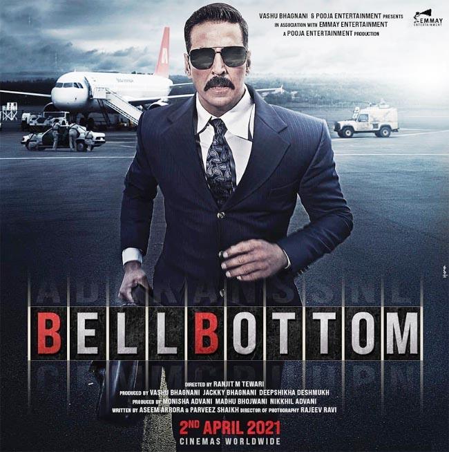 Akshay Kumar finishes shoot of Bell Bottom