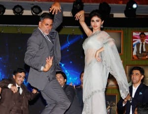 Akshay Kumar , Mouni Roy at Film Gold's Event