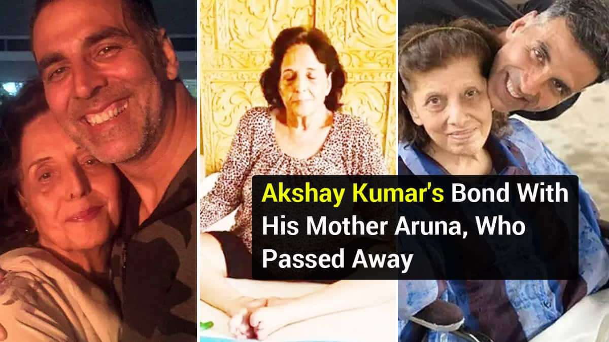 Akshay Kumar   s Mother Passed Away  See Their Unbreakable Bond in Photos