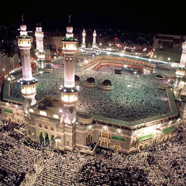 Al Haram Mosque  Mecca  Saudi Arabia