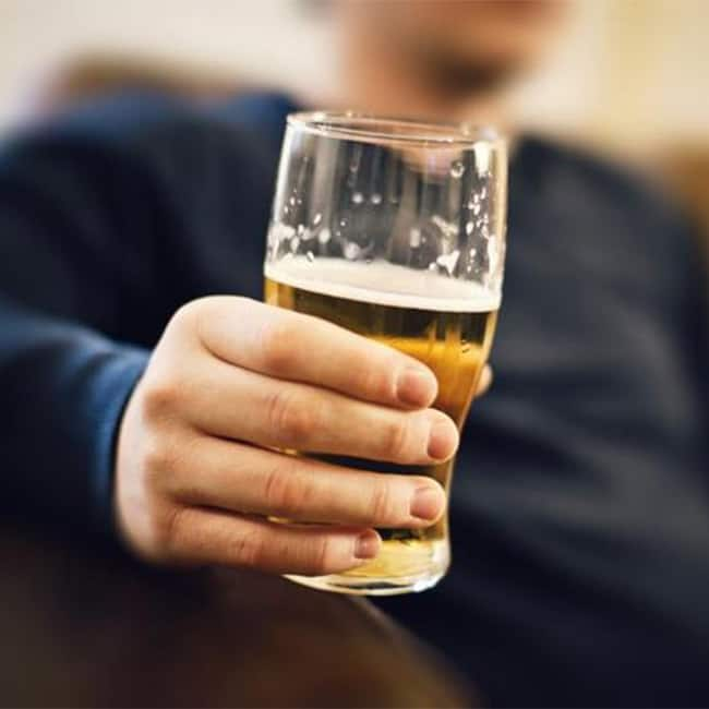 Alcohol makes your metabolism extremely slow