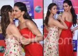 Alia Bhatt And Deepika Padukone Show Wonderful Camaraderie at Zee Cine Awards 2019