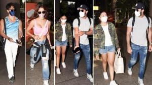 Alia Bhatt- Ranbir Kapoor, Tiger Shroff-Disha Patani Return To Mumbai From Maldives | See Pics