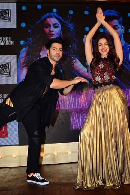 Alia Bhatt shares a picture with Varun Dhawan on Instagram
