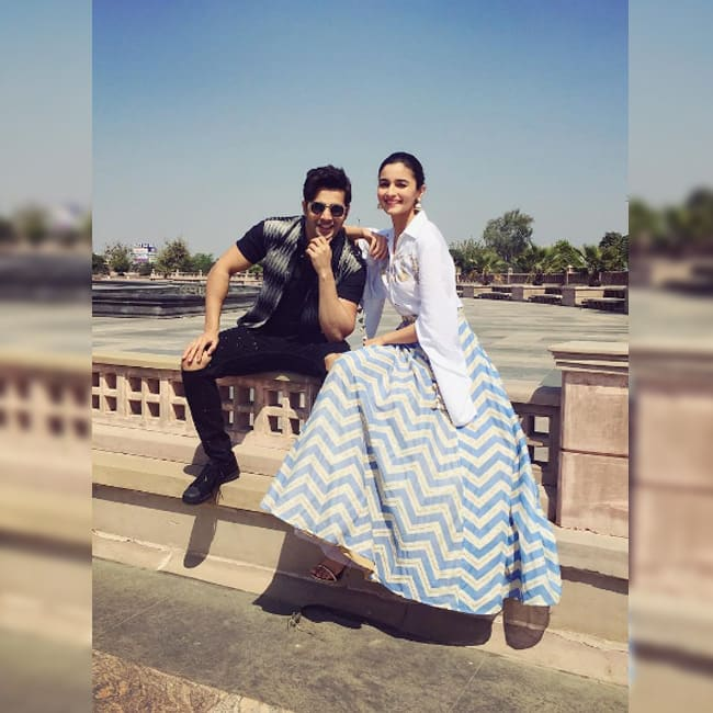 Alia Bhatt shares a very cute picture on Instagram with Varun Dhawan