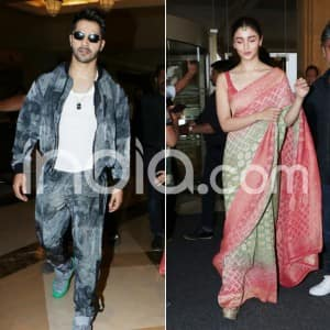 Kalank: Alia Bhatt And Varun Dhawan up Their Style Game Ahead of Film Release