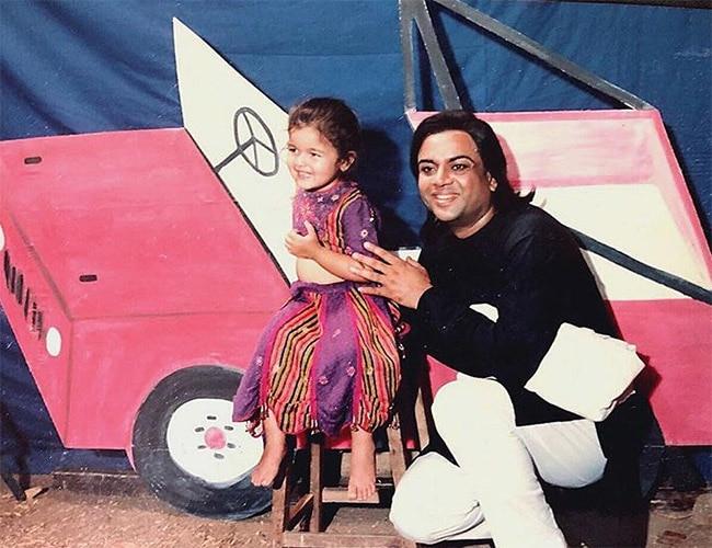 Alia Bhatt with actor Paresh Rawal