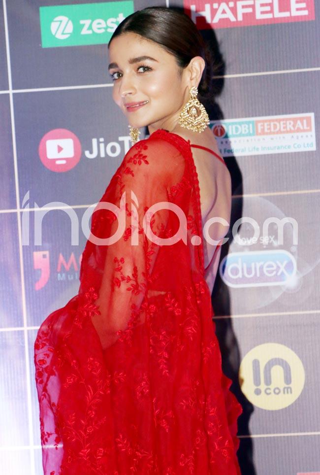 Alia Bhatt wore Sabyasachi