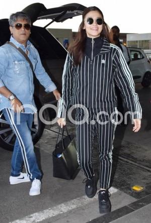Gully Boy: Ranveer Singh-Alia Bhatt Look Stylish at The Airport