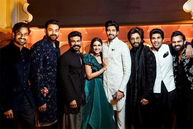 All the photos from Niharika Konidela s Sangeet ceremony in Udaipur