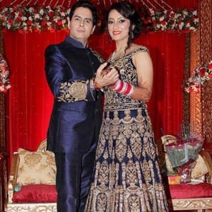 Finally! TV actor Aman Yatan Verma ties knot with fiancée Vandana Lalwani, see pics