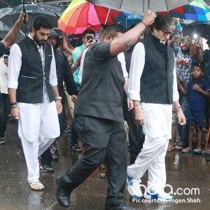 PICS: Amitabh Bachchan, Shah Rukh Khan, Ranbir Kapoor at Shashi Kapoor's funeral
