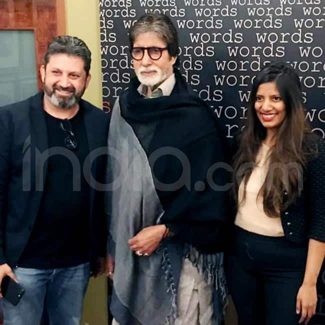 Amitabh Bachchan signs up