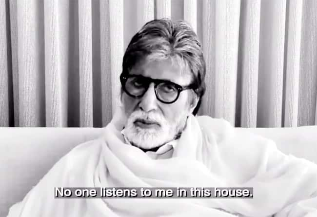 Amitabh Bachchan Starrer Short Film 'Family' Loved by Viewers