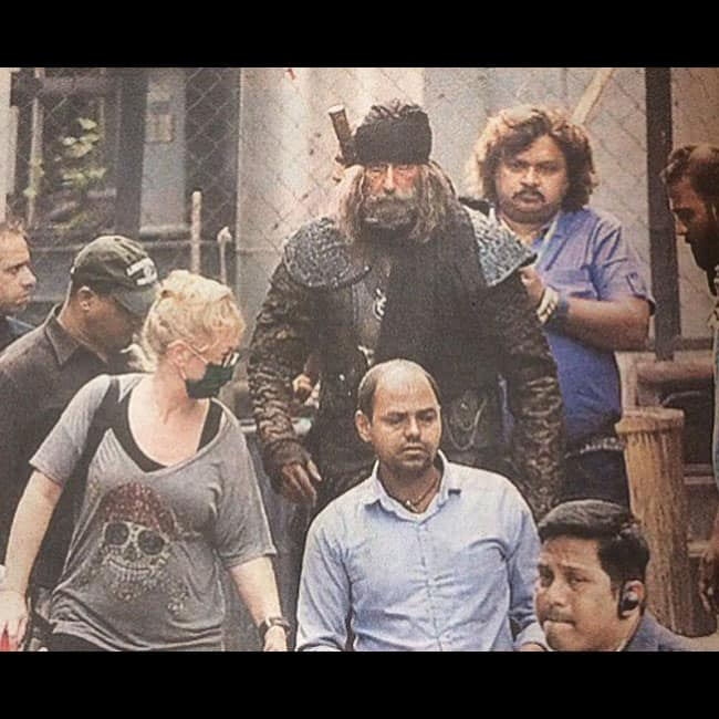 Amitabh Bachchan   s first look from Thugs of Hindostan