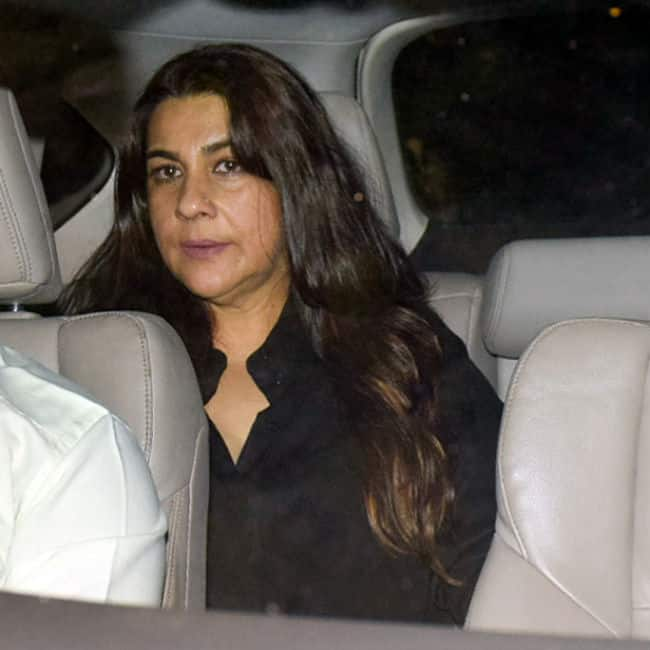 Amrita Singh at Jaya Bachchan   s birthday bash