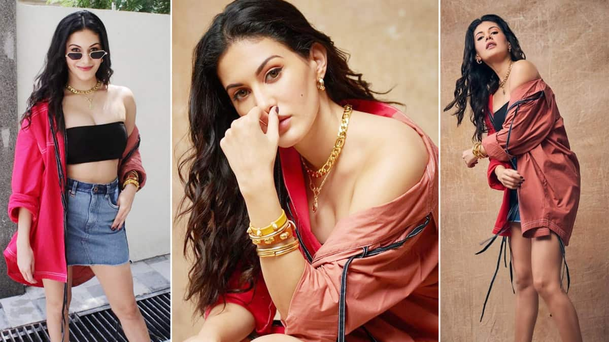 Amyra Dastur can pull off any outfit with equal ease