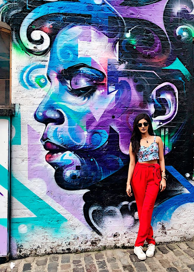 Amyra Dastur is a Sight to Behold During Her London Trip