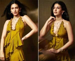 Amyra Dastur Creates a Storm Online With Her Stylish Appearance For Tandav Promotions