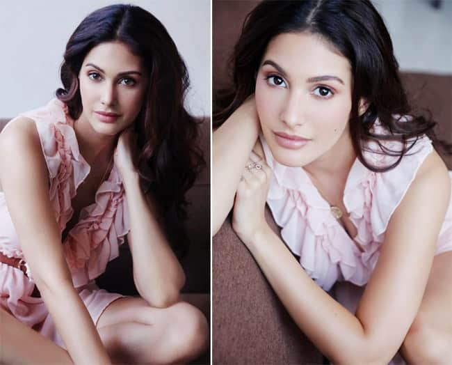 Amyra Dastur Poses in a Little White Dress