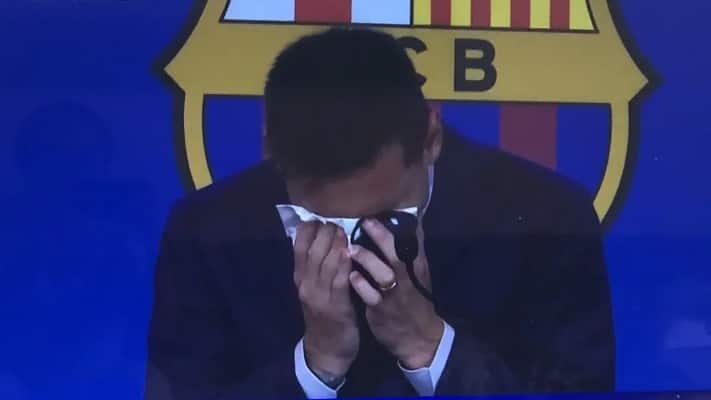 An Emotional Lionel Messi Press Conference