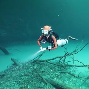 Pics of underwater river 'Cenote Angelita' near Yucatan Peninsula in Mexico will surely amuse you!