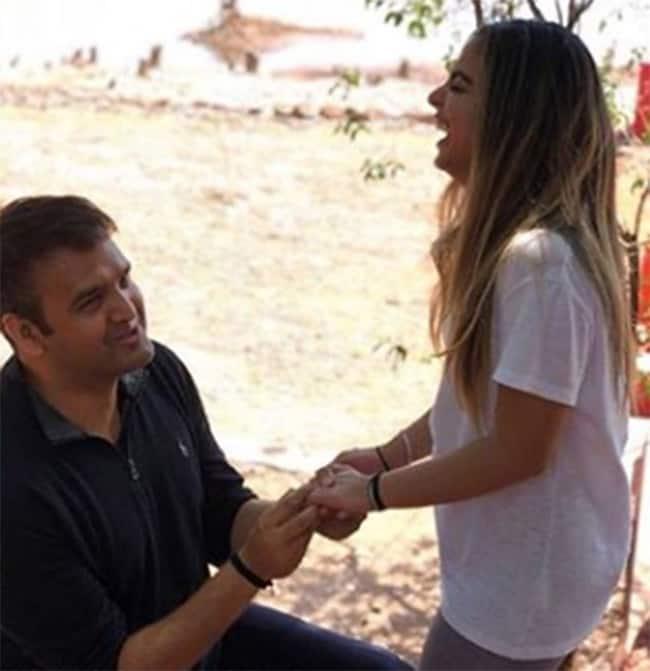 Anand Piramal proposing Isha Ambani