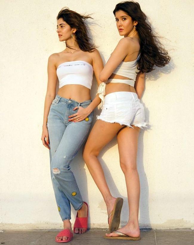Ananya and Shanaya s hot and sexy avatar