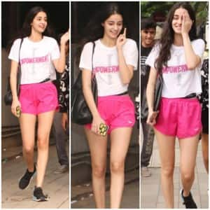 Ananya Panday Shares Laughter And Talks With Her Buddies Post Dance Classes - See Pics