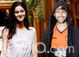 Ananya Panday Wears Pink Shorts And Kartik Aaryan an Orange T-Shirt at Dance Class