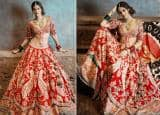 Ananya Pandey Turns Traditional Bride In Hot Red Embroidered Lehenga And We Are Loving Her Royal Look | See Pics