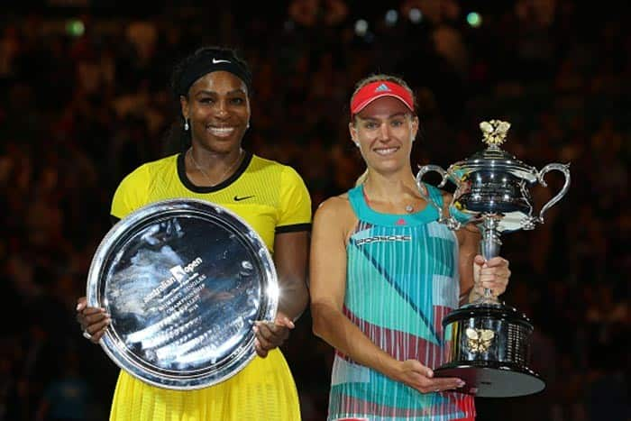 Angelique Kerber and Serena Williams clicked during Australian Open 2016