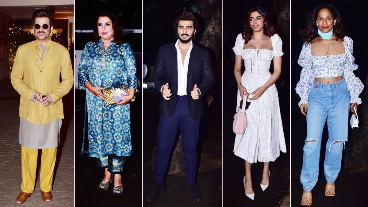 Anil Kapoor Hosts Rhea Kapoor Karan Boolani s Wedding Dinner Party