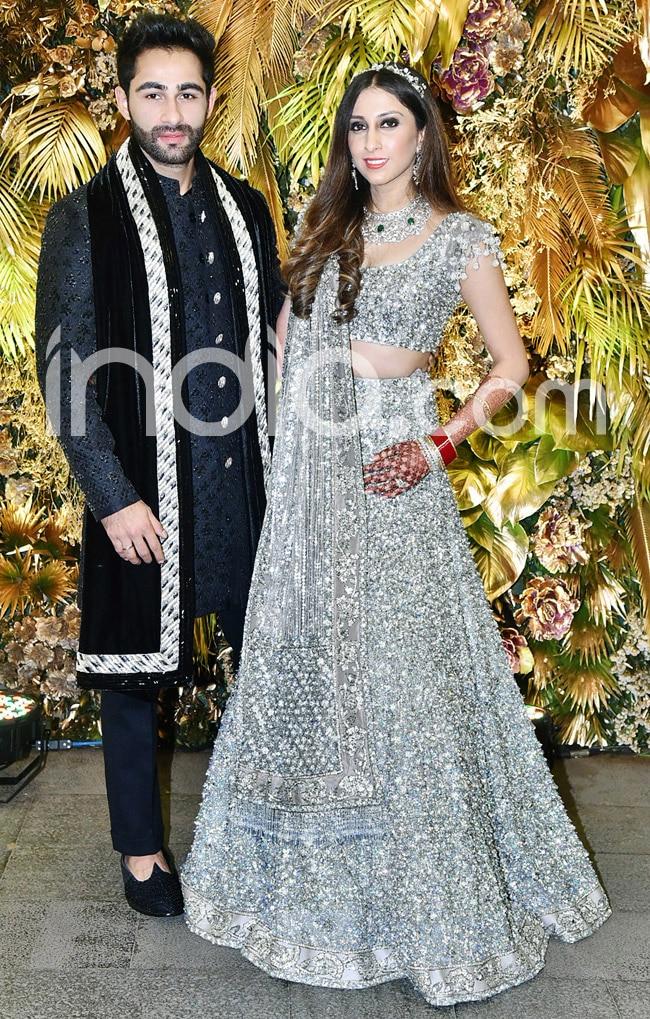 Anissa Malhotra wears Manish Malhotra