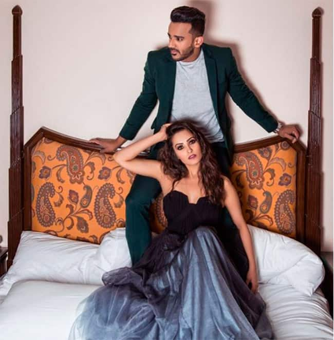 Anita Hassanandani and Rohit Reddy are fitness freaks