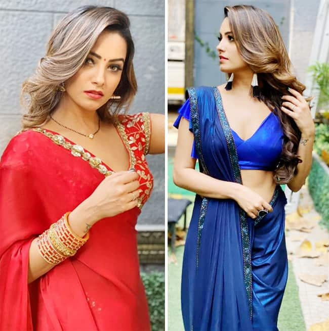 Anita Hassanandani sure knows how to style her sarees