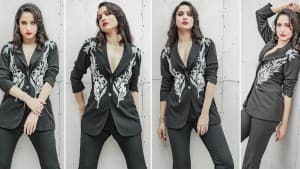 Ankita Lokhande Drops Sexy Pics in Black Pantsuit - is This The Hottest Halloween Look Ever?   See Pics