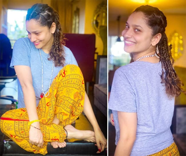Ankita Lokhande is giving serious hair goals to every braid enthusiast