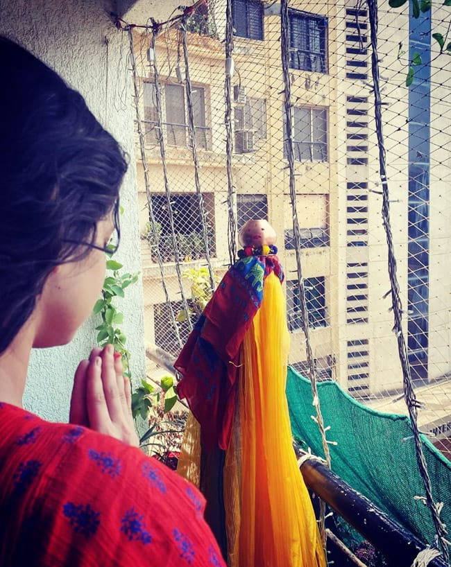 Ankita Lokhande Takes Blessings of God