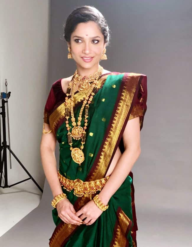 Ankita Lokhande Turns Into Gorgeous Maharashtrian Woman