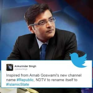 Best Twitter reactions to Arnab Goswami's new venture 'Republic' that will make you go ROFL!