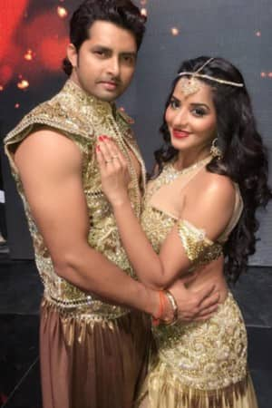 Best looks of Antara Biswas aka Mona Lisa and Vikrant Singh from Nach Balliye 8 journey!