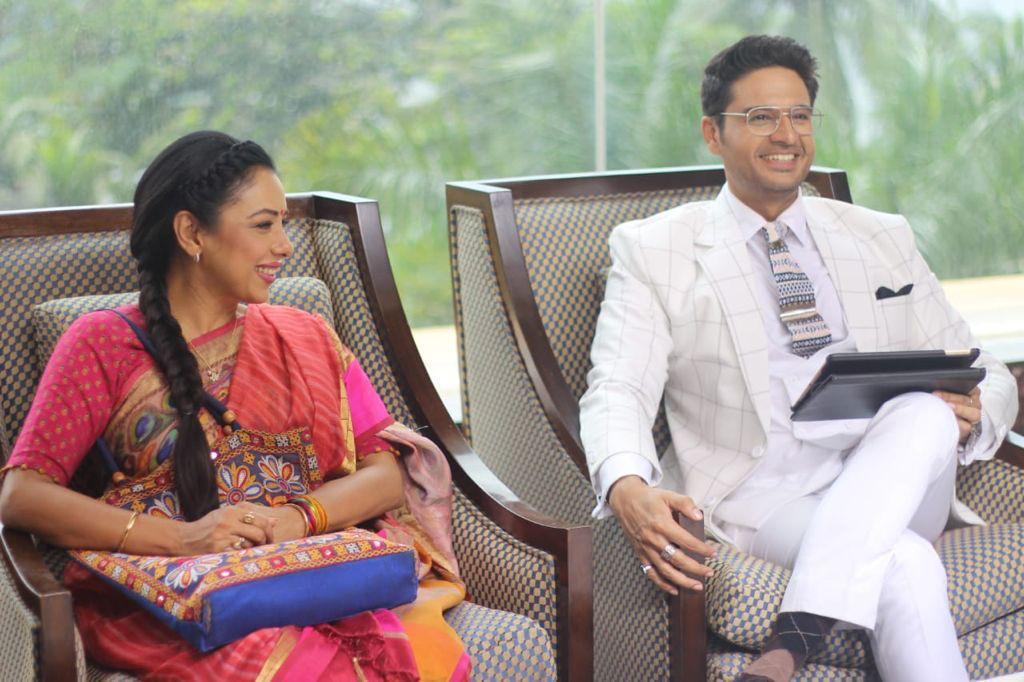 Anuj Kapadia fulfils Anupama   s dreams as she is having her best time in Mumbai