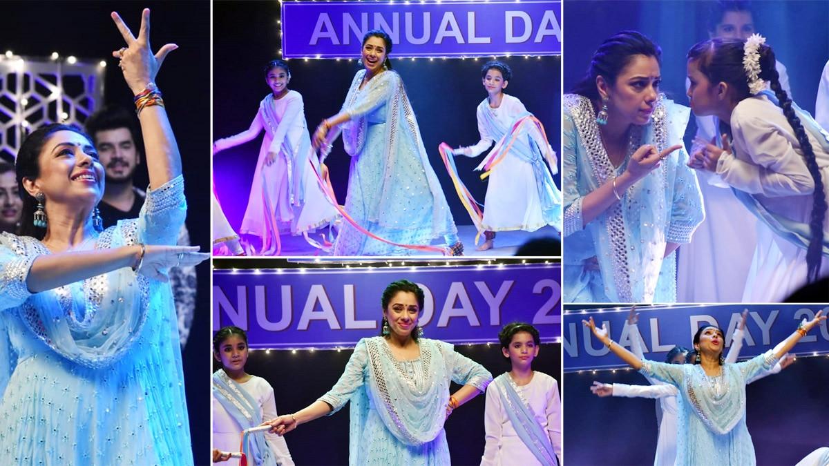 Anupama Aka Rupali Ganguly s Dance Performance