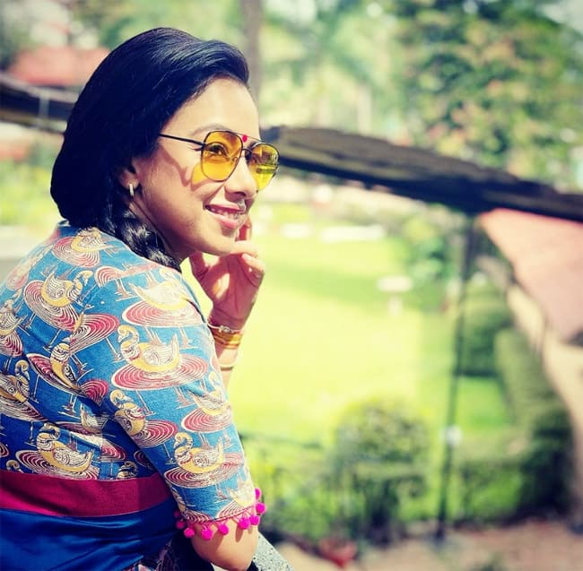 Anupama Fame Rupali Ganguly Swags It Up in Tinted Sunglasses