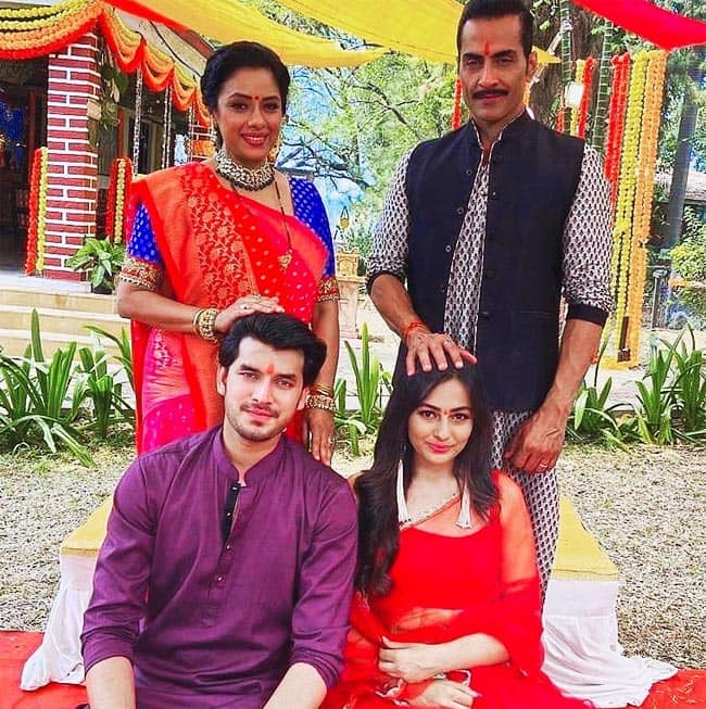 Anupama  Vanraj Accepts Samar Nandini   s Relationship