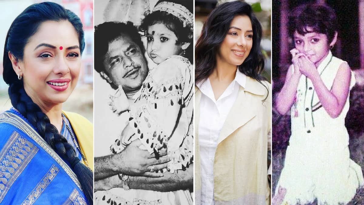 Anupamaa actor Rupali Ganguly s Childhood Pictures Are Unmissable