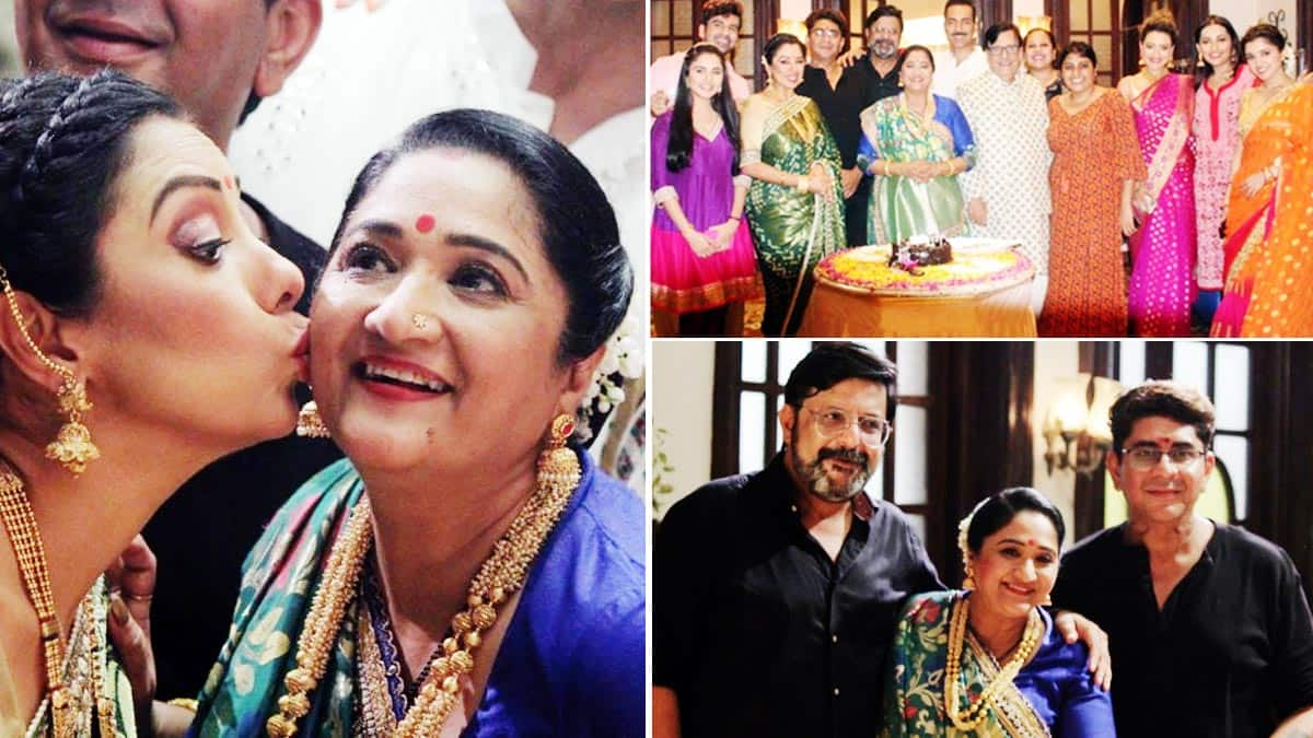 Anupamaa  Baa celebrates birthday with Anupama and Anuj Kapadia among others