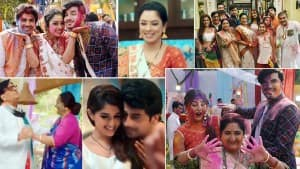 Anupamaa TV Show Holi Special Episode: Rupali Ganguly Stuns in White Saree, Plays Colours With Vanraj - See Pics