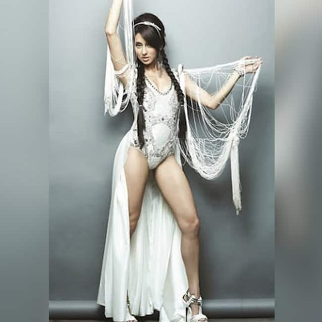 Anusha Dandekar looks sexy in this picture
